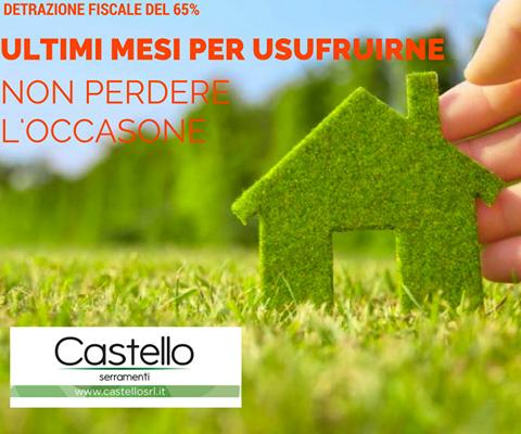 Castello Srl - Detrazioni fiscali