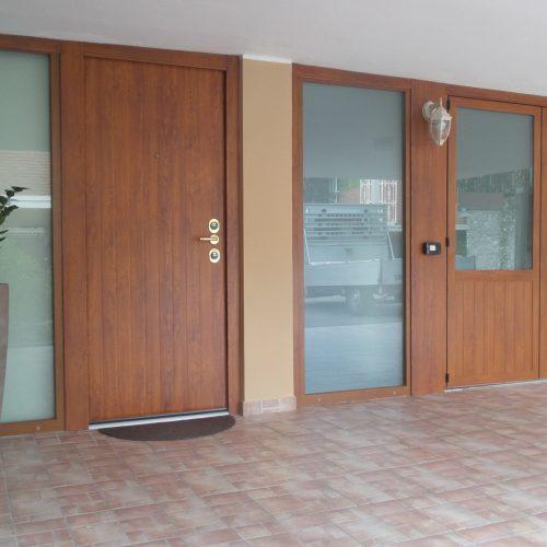 Serramenti in alluminio - ingresso