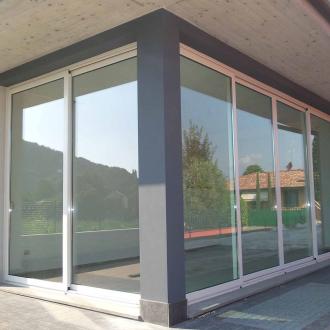 Serramenti in alluminio - veranda