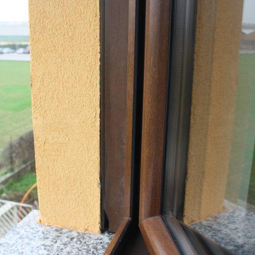 Serramento in PVC - Particolare esterno