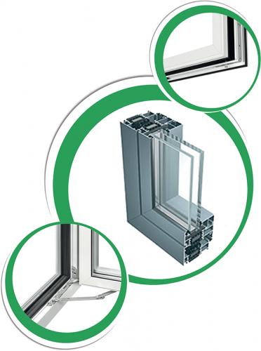 Castello Srl - IWL Plus - Serramento in alluminio