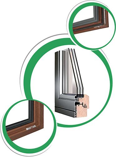 Castello Srl - Thermic Plus Serramento in Legno Alluminio